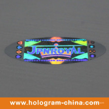 Silver Anti-Fake Security Hologram Label Printing