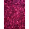 Tecido de malha vestido de menina de flor preço razoável