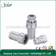 Ningbo AS-S1-Ss fechar tipo hidráulico qucik acoplamento de aço inoxidável