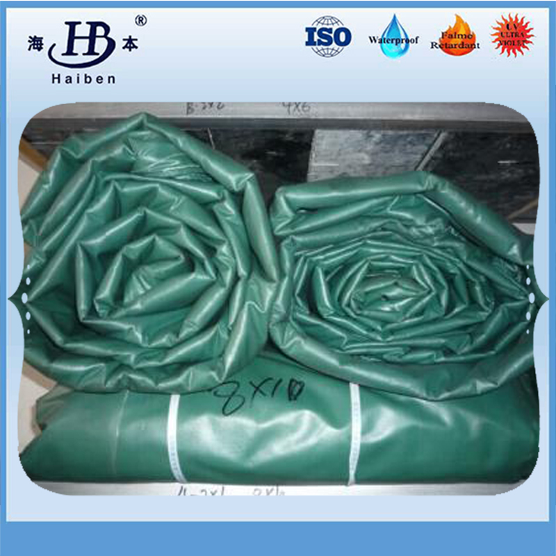 Durable pvc waterproof high tensile flexible duct tarpaulin
