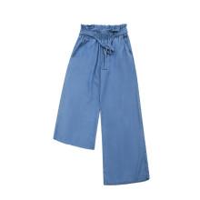Pantalones anchos tejidos para mujer
