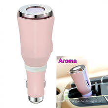 50ml Ultrasonic Car Essential Oil Diffuser Led Lights