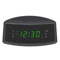 Hot Sale Dual-Alarm Snooze Large LED Display Digital Radio Talking Alarm Clock with FM Radio