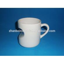 Taza de café de cerámica de taza especial de porcelana en forma especial