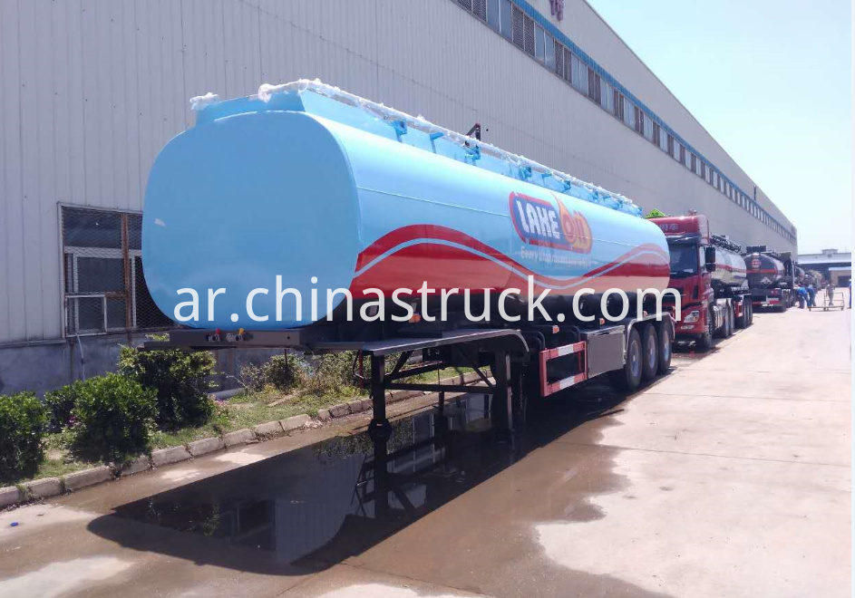 6 COMPARTMENTS fuel tank semi-trailer