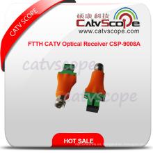 FTTH CATV Receptor óptico Csp-9008A / receptor de la casa / pequeño hogar Reveriver /