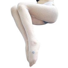 Factory price glitter high waist snag resistance full body fishnet stockings pantyhose women
