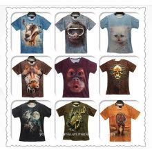 Cheap Animal Promocional Atacado T-shirts