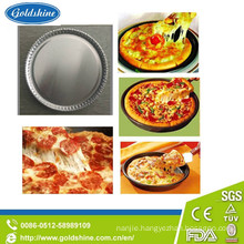 "Diaposable 7"" Round Aluminum Pizza Pan"