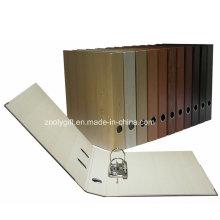 A4 Деревянный шаблон печати бумаги рычаг Arch File Folder