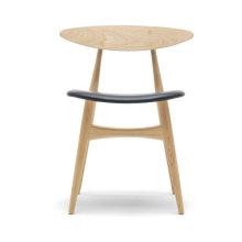 Cadeira de bar de madeira cadeira de jantar Hans Wegner