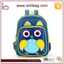 Bolso de libro al por mayor para la mochila de la escuela del niño, bolso de escuela para los niños