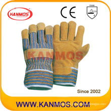Pig Split Leather Industrial Safety Work Gloves (21002)