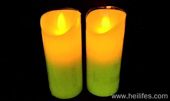Cuztomized LED candle light