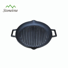 Round Custom Cast Iron Griddle Plate