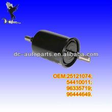 OEM Quality Daewoo Lanos,Fiat Punto,Opel Astra,Seat; Skoda;VW Polo,LADA PRIORA 25121074,54410011,96335719 AUTO FUEL FILTER