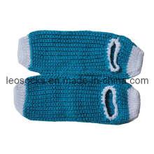 Новые женские дамские трикотажные носки с антискользящим покрытием для помещений (DL-HS-04)