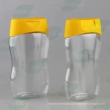 415g clara garrafa de mel de estimação com tampão não-gotejamento (PPC-PHB-65)