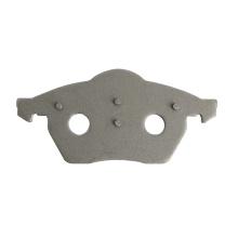 carbon steel Q235B top quality automotive disc brake pad back plate for audi car break pad