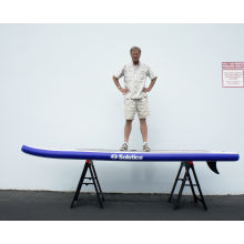 Надувная противоскользящая доска для серфинга с веслом
