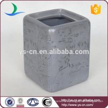 Sujetador de cepillo de cerámica de diseño de piel de mármol de lujo