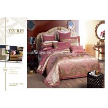 2015 Neuer Entwurfs-Luxuxbettwäsche-Satz mit Kissen-Abdeckung China-Großverkauf