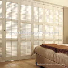 Customized Basswood Plantation Shutter Blinds with 63 and 89mm Blade