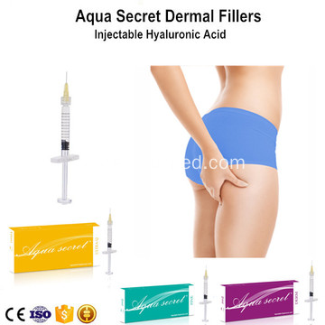 Cross-linked Dermal Filler dengan Buttock Injection