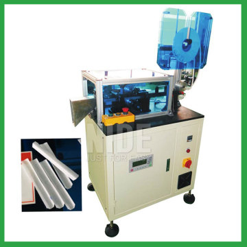 Stator slot paper wedge forming and cutting machine