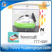 Los juguetes calientes de la venta 4ch mini radio controlan el barco del rc de la energía de gas del aerodeslizador para los cabritos 777-220