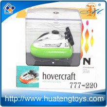 Hot Sale Toys 4ch Mini radio control hovercraft essence power rc bateau pour enfants 777-220