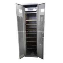 Rack de servidor 19 pulgadas de gabinete de red con puertas