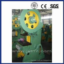 Prensa mecánica del sacador, prensa del sacador del C-Marco, máquina perforadora mecánica, prensa punzonadora excéntrica (J23-25)