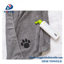 2018 Factory promotion microfiber pet towel with printed logo