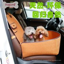 Protecteur de couverture de siège avant d'animal familier de gamme de la nature pour des voitures