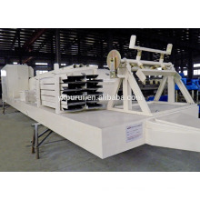 Professional no-girder arch roof automatic building machine rolling and cold used construction equipment roll forming machine