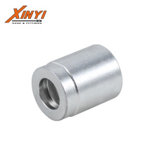 Hydraulic Crimp Hose Ferrules sleeves couplings for 1,2 wire hose hydraulic adapters Hydraulic ferrule