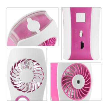 Baby Carroll Mini Fan Pink Plug In Personal