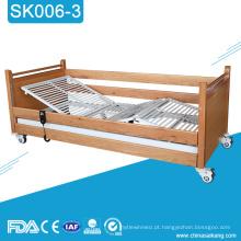 Cama elétrica médica Multifunctional barata do cuidado da casa do hospital SK006-3
