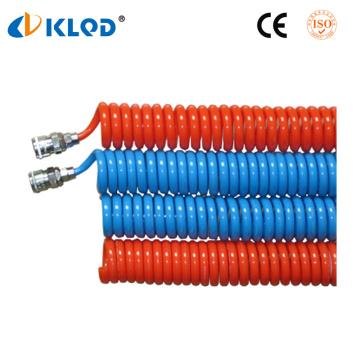 Tubo espiral de nylon 4mm do poliuretano do plutônio