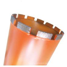 Broca con núcleo de diamante para hormigón armado de alta calidad