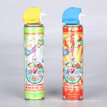 Spray de nieve para fiesta de cumpleaños Promoción de spray de nieve
