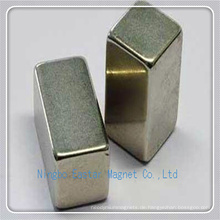 N40 NdFeB Permanent Stabmagnet mit Nickelplattierung