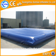 Walking water ball pool with cover, inflatable floating water pool wholesale