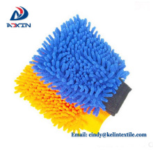 23*17cm car wash mitt chenille car washing gloves for adult men or women