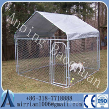 Perro perreras perro plegable jaulas metal galvanizado perro correr cerca paneles