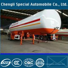Heavy Duty 40m 3 remorque de Transport de GPL 40000L GPL réservoir Semi remorque 20 tonnes LPG Tank