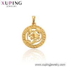 33755 xuping 24k gold plated wholesale costume imitation jewelry pendant