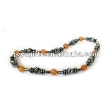 Hämatit Rot Aventurin Perlen Halskette