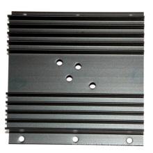 Caja de inversor de carcasa de disipador de calor de aluminio extruido personalizado